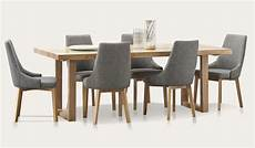 esstisch holz hell kennedy dining suite in australian messmate timber with