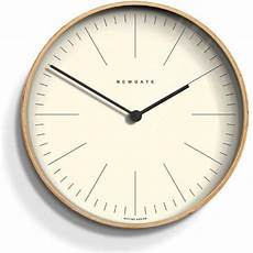 newgate mr clarke light plywood 40cm wall clock by home of the sofa