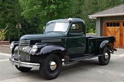 1946 Chevrolet Pickup  Information And Photos MOMENTcar