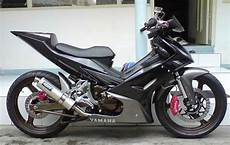 Modifikasi Stiker Jupiter Mx 135 by Foto Gambar Modifikasi Standar Sederhana Striping Stiker