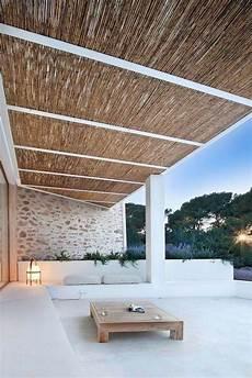Dach Für Terrasse - bambus dach ideen terrassen 252 berdachung holz garten en