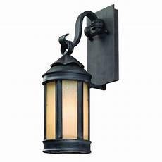 troy lighting andersons forge iron outdoor wall lantern sconce b1461ai the home depot