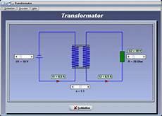 transformator trafo spannung funktion berechnen
