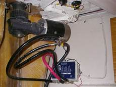 anchor windlass solenoid 2nd footswitch and remote installation 36 375
