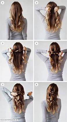 weekly hairstyle tie a knot hairstyles hair hair styles long hair styles