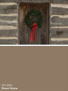 sherwin williams brown paint color down home sw 6081 whimsical winter winter paint
