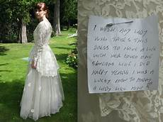 donating wedding gowns this donated his late s wedding dress to be sold