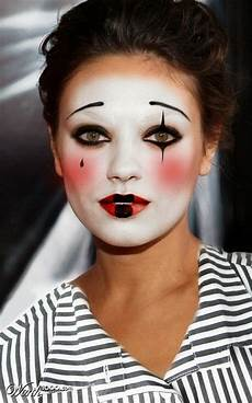 clown frau schminken the bloomin easy costume makeup ideas