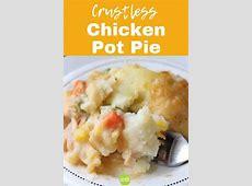 crustless chicken pot pie_image