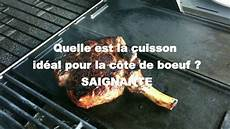 comment cuire une cote de boeuf au barbecue a la bonne