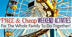 Free Weekend Activities For The Whole Family Surviving