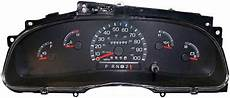 automotive service manuals 2002 ford f series instrument cluster 2002 2003 ford e150 e250 e350 econoline van instrument cluster repair gas only