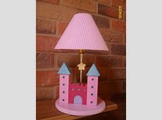 Princess lamp for girls room decor   Kids lamps