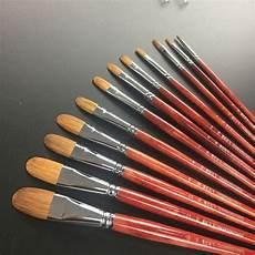 filbert wolf gross artist paint brush brushes 6
