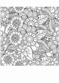 Blumen Ausmalbilder Erwachsene Pin Auf Malen