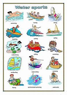 water sports worksheet free esl printable worksheets made by teachers