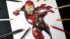 Ironman Malvorlagen Ragnarok C 243 Mo Dibujo A Ironman Con L 225 Pices De Colores How To Draw
