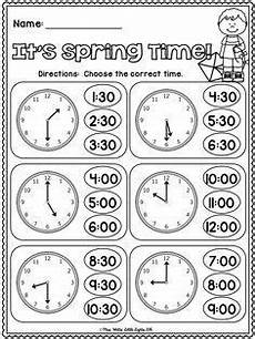 free printable telling time worksheets kindergarten 3752 free it s time telling time grade math homeschool math 1st grade math