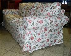 sofa mit blumenmuster 3 sitzer ebay