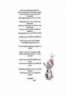 Malvorlagen Olaf Lyrics Frozen Disney Frozen Disney Songs Disney Song Lyrics