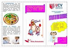 triptico de nutrici 211 n saludable