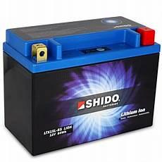retrouvez votre batterie lithium ion shido pour moto