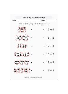 math division worksheets for primary math students at home or math classes and education