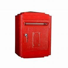 boite aux lettres poste boite aux lettres la poste jaune large bunker