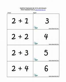 free printable basic math flash cards 10797 addition flashcard