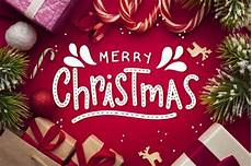 merry christmas lettering christmas photo free vector