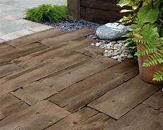 Bahnschwellen Beton Holzoptik - woodstone sleepers wood effect paving marshalls