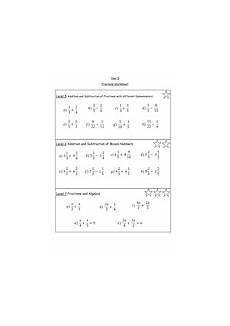 fraction worksheets tes 4113 ks3 fractions mixed improper add and subtract teaching resources