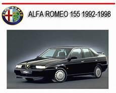 car owners manuals free downloads 1992 alfa romeo 164 transmission control alfa romeo 155 1992 1998 repair service manual download manuals