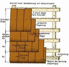 Holzschindeln Verlegen Anleitung Wandverkleidung Und
