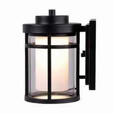 home decorators collection black outdoor led small wall light rebuild curb appeal outdoor