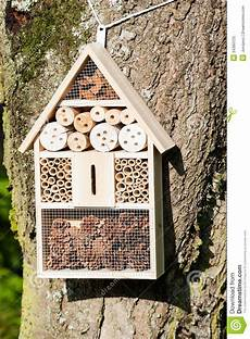 insect hotel stock image image of home garden ecology