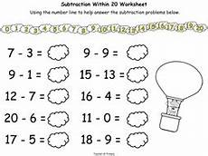 subtraction worksheets eyfs tes 10064 up up and take away subtracting numbers to 20 by online teaching resources teaching