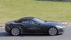 Aston Martin DB11 Volante And New Coupe Version Spied