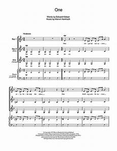 one from a chorus line choral ssa sheet music by by kerr ssa 44154