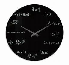 wanduhr mathematik mit bildern wanduhren uhrideen