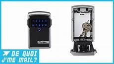 un mini coffre fort connect 233 pour partager vos clefs dqjmm
