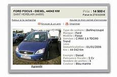 annonce voiture occasion