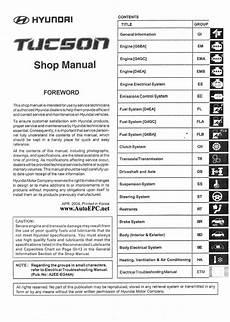 service repair manual free download 2011 hyundai tucson user handbook hyundai tucson repair manual order download