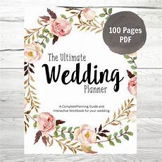 Wedding Pdf printable wedding planner diy wedding planner diy