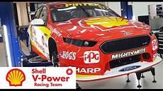 shell v power racing inside the shell v power racing team