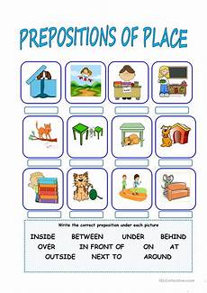 locating places worksheet with answers 15952 prepositions of place esl worksheets for distance learning and physical classrooms