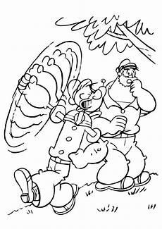 Gratis Malvorlagen Popeye Popeye Ausmalbilder Malvorlagen 100 Kostenlos