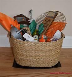 easy to put together a diy grilling theme bridal shower gift basket wedding bridal shower