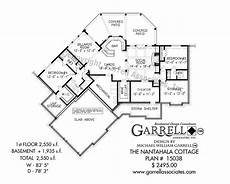 nantahala house plan nantahala cottage 15038 garrell associates inc