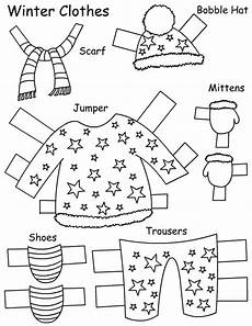 winter clothes worksheets 19966 seasons clothes paper doll learningenglish esl search preschool and paper